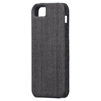 Black and Gray Tricks on the Eye iPhone 5 Case