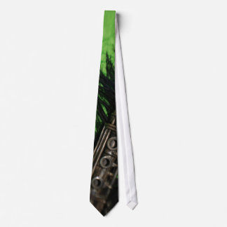 Black and Green Clarinet Tie