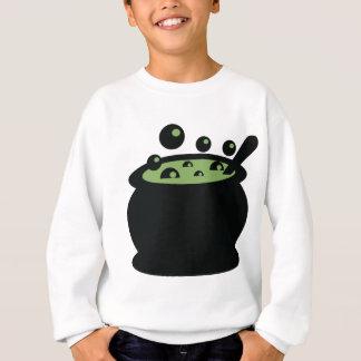 Black and Green Cooking Pot Sweatshirt