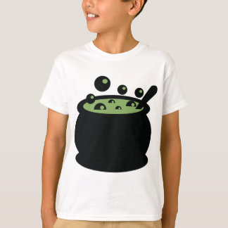 Black and Green Cooking Pot T-Shirt