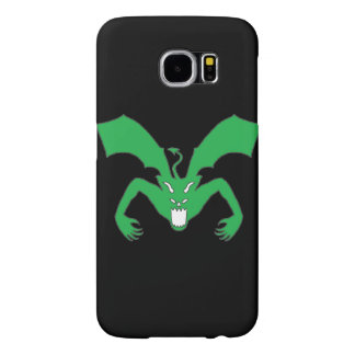 Black And Green Devil Samsung Galaxy S6 Cases