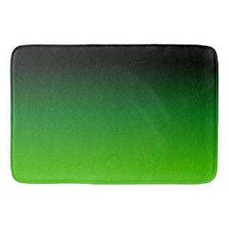 Black and Green Gradient 0921 Bath Mat