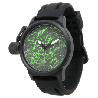 Black and Green Marble, Watch