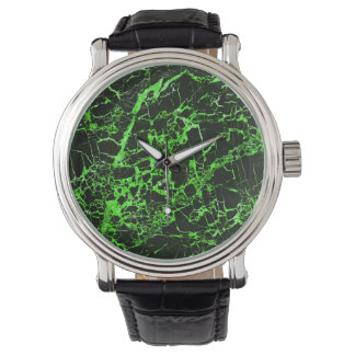 Black and Green Marble, Wristwatches