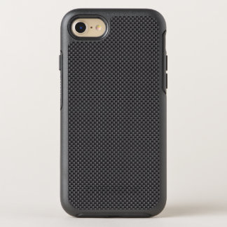 Black and Grey Carbon Fiber Polymer OtterBox Symmetry iPhone 8/7 Case
