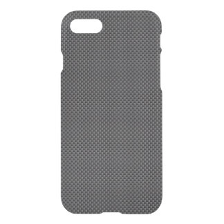 Black and Grey Carbon Fibre Polymer iPhone 8/7 Case
