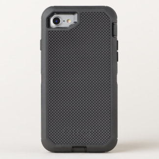 Black and Grey Carbon Fibre Polymer OtterBox Defender iPhone 7 Case