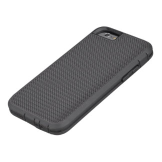 Black and Grey Carbon Fibre Polymer Tough Xtreme iPhone 6 Case