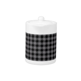 Black and Grey Plaid Pattern
