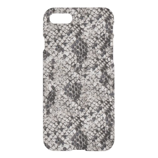 Black and Grey Snake Skin iPhone 8/7 Case