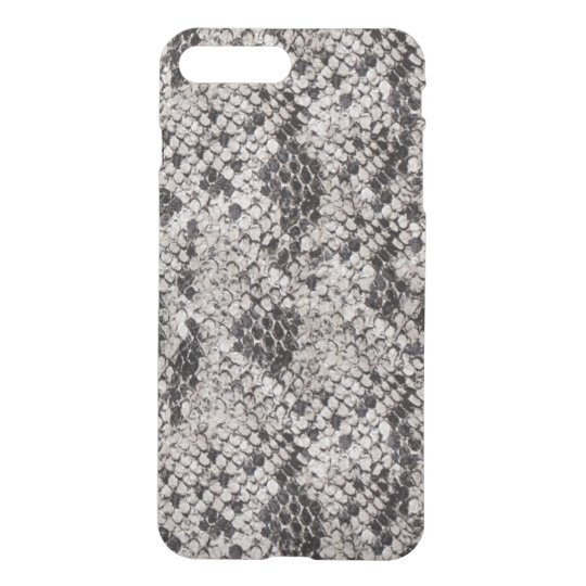 Black and Grey Snake Skin iPhone 8 Plus/7 Plus Case