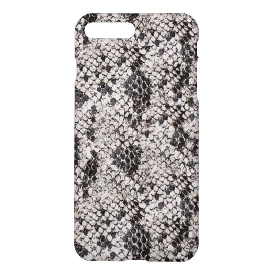 Black and Grey Snake Skin iPhone 8 Plus/7 Plus Case