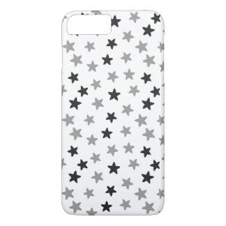 Black and Grey Stars iPhone 7 Plus Case