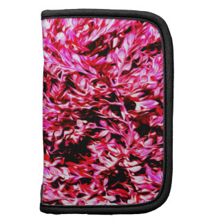 Black and Pink abstract digital painting Organizers