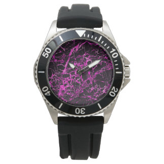 Black and Pink Marble, Watches