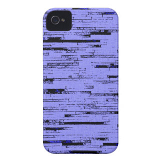 Black and purple lines art old wall bricks pattern Case-Mate iPhone 4 case