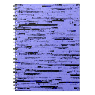 Black and purple lines art old wall bricks pattern notebooks