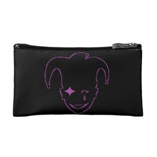 Black And Purple MTJ Cosmetic Bags