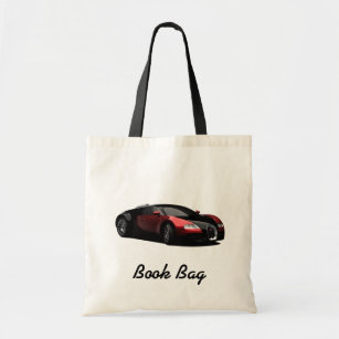 8843a7e93081 Black and red hot rod book bag