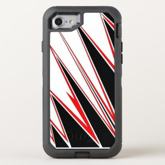 black and red Otter Box mobile phone case