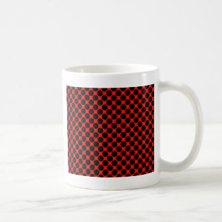 Black and Red Polka Dots Mugs