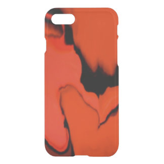 Black and Red Stain iPhone 8/7 Case
