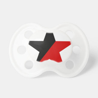 Black and Red Star Anarcho-Syndicalism Anarchism Dummy