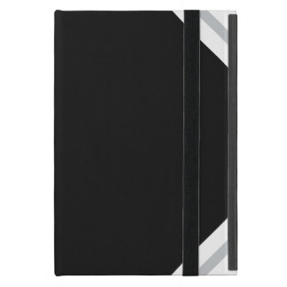 Black and Silver iPad Case