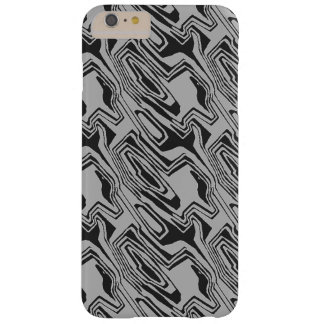 Black And Silver pattern Barely There iPhone 6 Plus Case