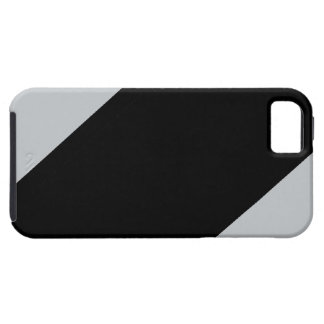 Black and Silver Striped iPhone 5 Cover