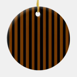 Black and Tan Ceramic Ornament