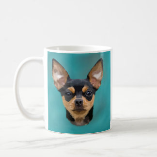 Black and Tan Chihuahua Dog Coffee Mug