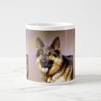 Black and Tan GSD Large Coffee Mug