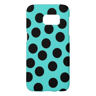 Black and teal Android case