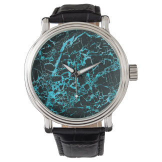Black and Teal Marble, Watches