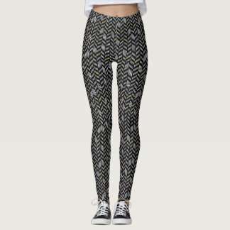 BLACK AND TRENDY LEGGINGS
