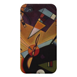 Black And Violet iPhone 4/4S Covers