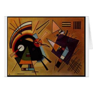 Black and Violet, Kandinsky Cards