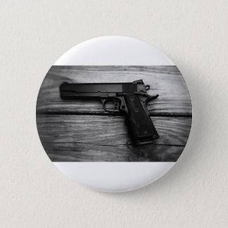 Black and White 1911 6 Cm Round Badge