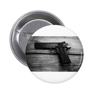 Black and White 1911 6 Cm Round Badge