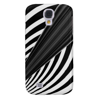 Black and white 3G  Galaxy S4 Cases