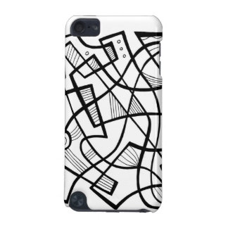 Black and White Abstract iPod Touch (5th Generation) Cover