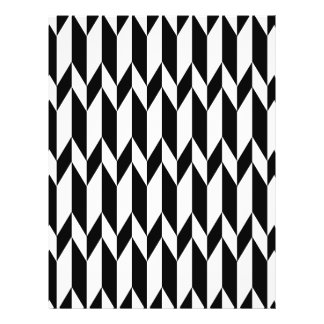Black and White Abstract Graphic Pattern. Flyers
