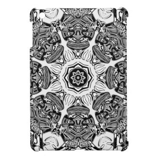 Black And White Abstract iPad Mini Cover