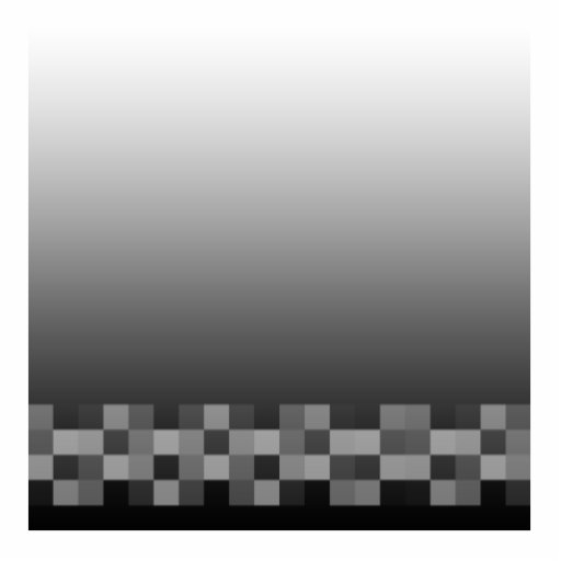 Black and White Abstract Modern Design. Cut Out