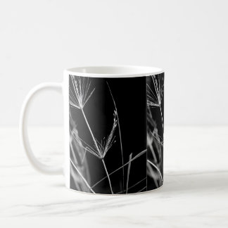 Black and White Abstract Nature Mug