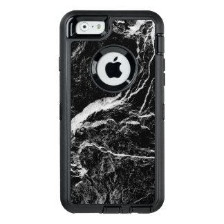 Black and White Abstract Pattern OtterBox Defender iPhone Case