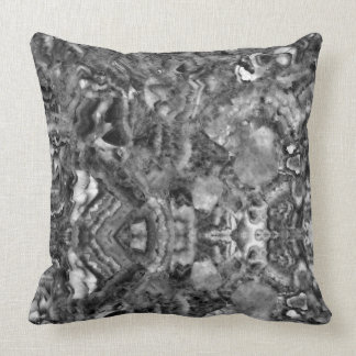 Black and white abstract Quartz Cushion