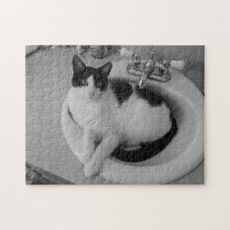 Black and white and comfy jigsaw puzzle