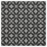 Black and White Arrow Tribal Print Fabric